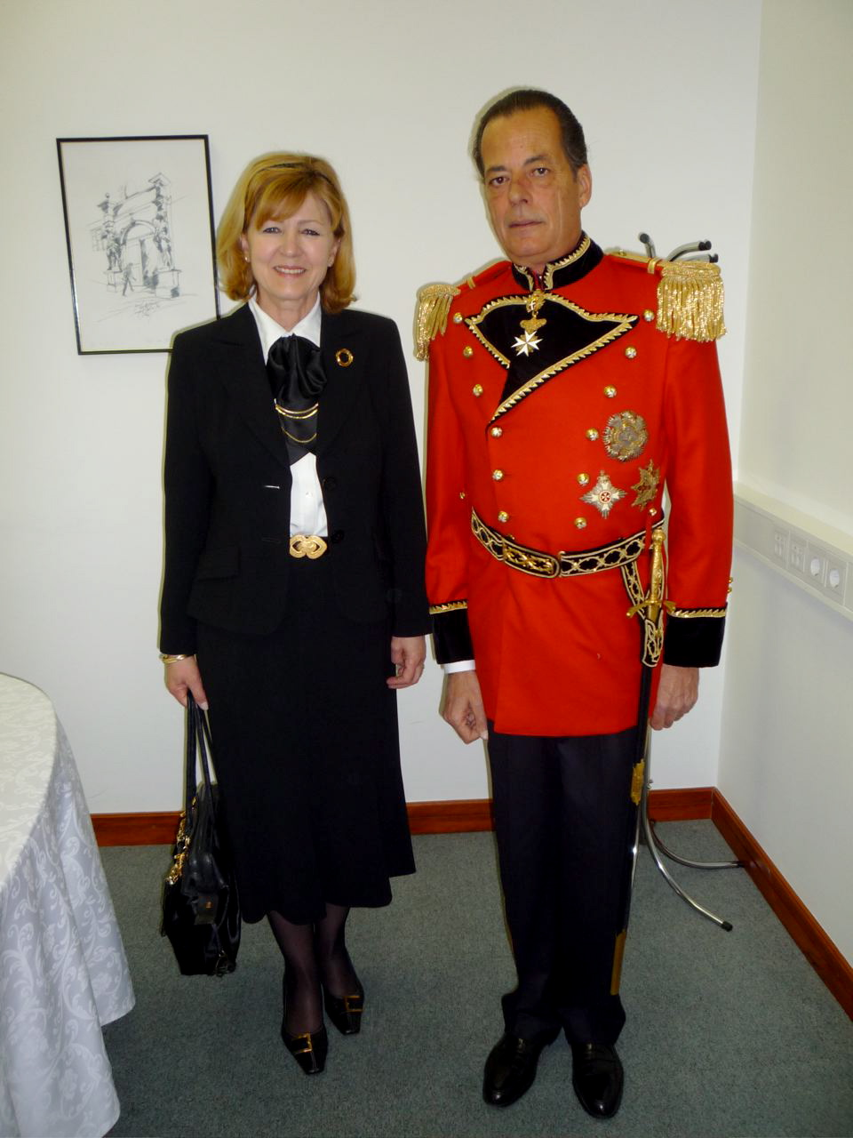 THE CHIEF OF PROTOCOL Mrs. MAJA LOVRENCIC SVETEK